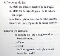 """Perec, """"A Claude Bergé"""""""