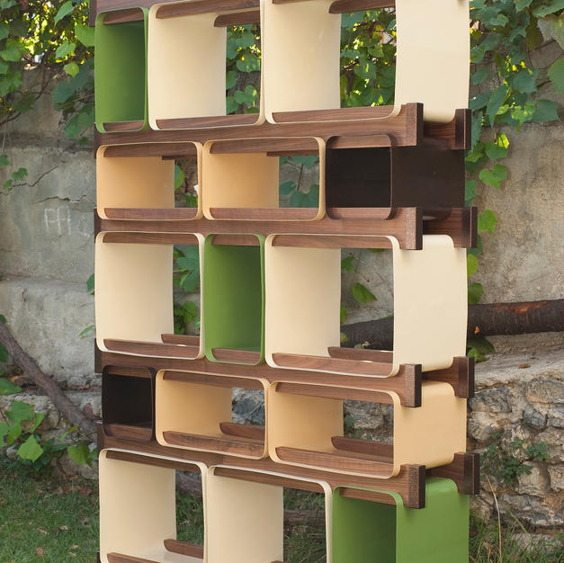 Duwall modular shelf unit