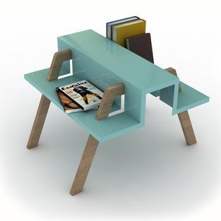 Lucky luke coffee table