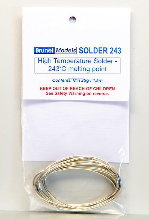 Solder - 243 Degree 25g