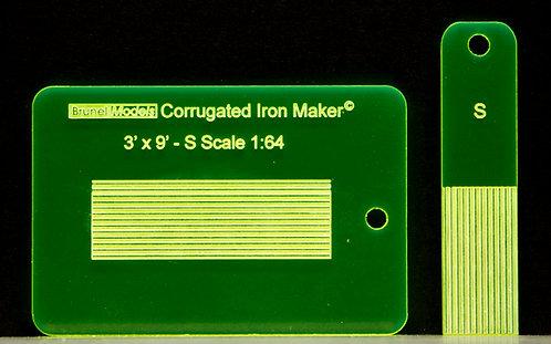 Corrugated Iron Maker S