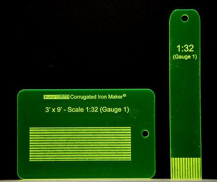 Corrugated Iron Maker1:32 (Gauge 1)