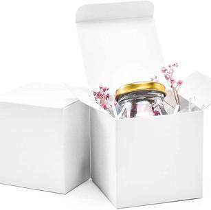 3x3x3 White Gift Boxes (50 pieces)
