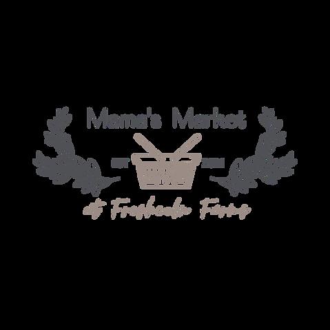 Mama's Market Logo (Transparent) - 750x7