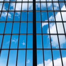 Geometric windows in the Metropolitan Museum of Art