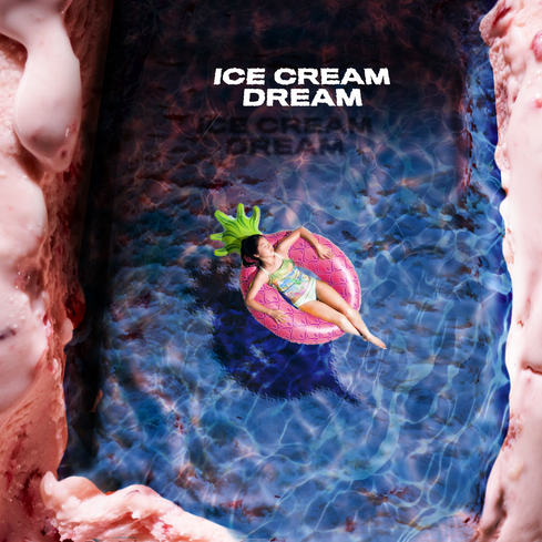 Ice cream pool