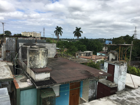 Another view from the compound roof