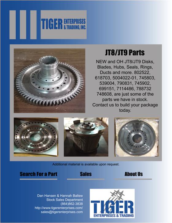 JT8 / JT9 Parts!