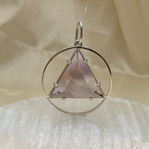 "1"" Vogel CircleStar, Ametrine in Sterling Silver"