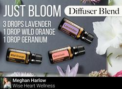 Just Bloom Diffuser Blend