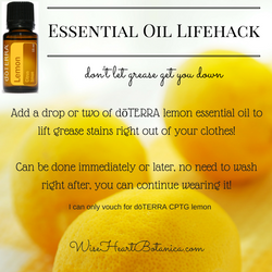 Essential Oil Lifehack