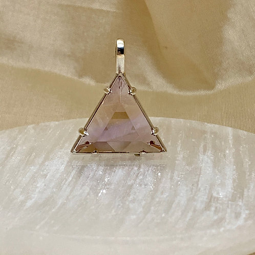 ".75"" Vogel Star of David, Ametrine and Sterling Silver"