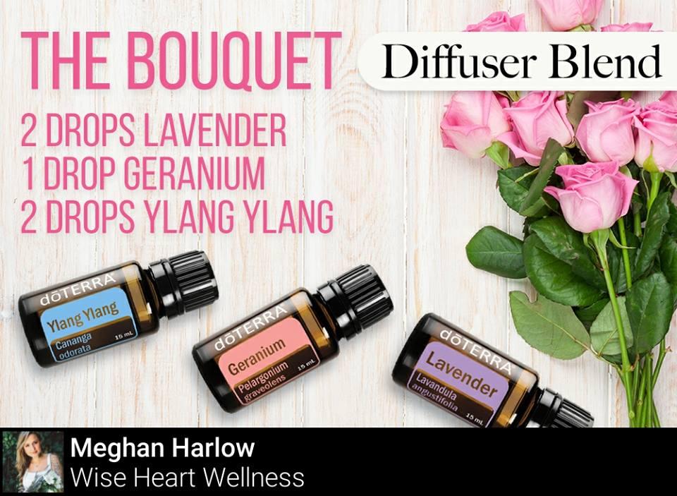 The Bouquet Diffuser Blend