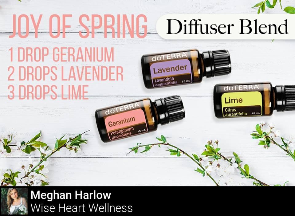 Joy of Spring Diffuser Blend