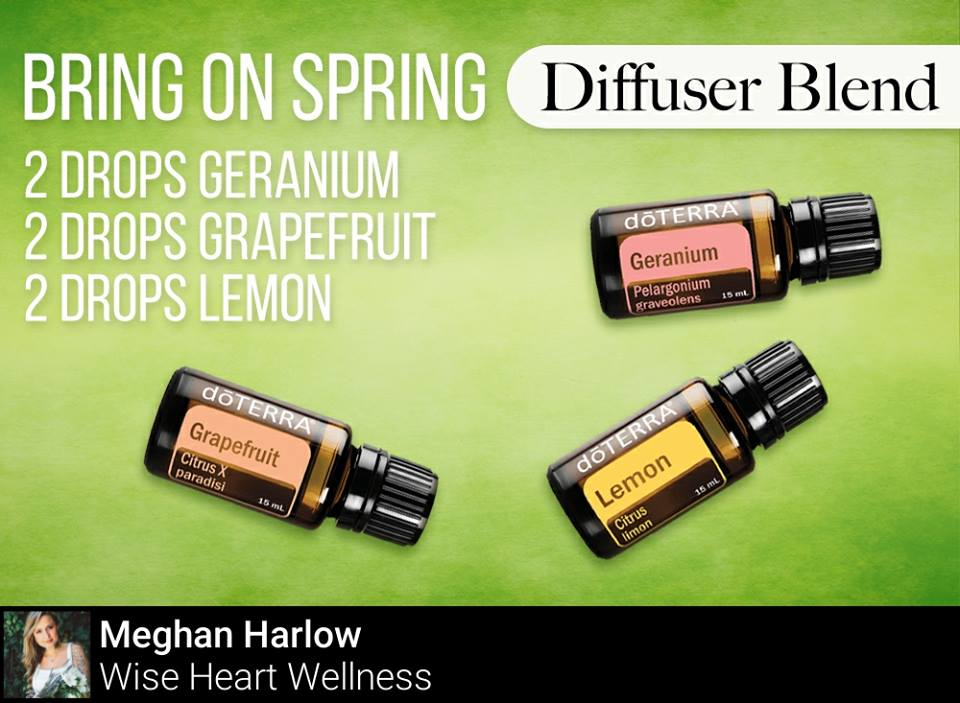 Bring on Spring Diffuser Blend