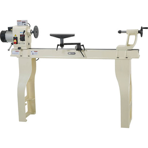 """W1758 16"""" x 46"""" Wood Lathe with Stand and DRO"""
