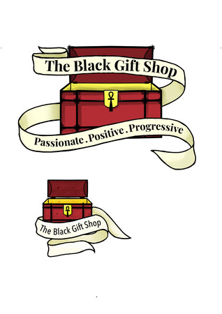 The Black Gift Shop Logo