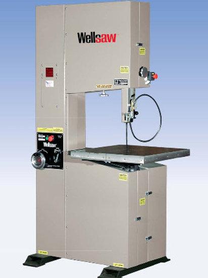 WELLSAW - V-20/V-20-24 VERTICAL BANDSAW