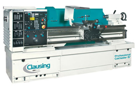 "Clausing Variable Speed Lathes 13"" & 15"""