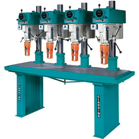 "Clausing Drill Press 20"" Variable Speed, Multi-Spindle"