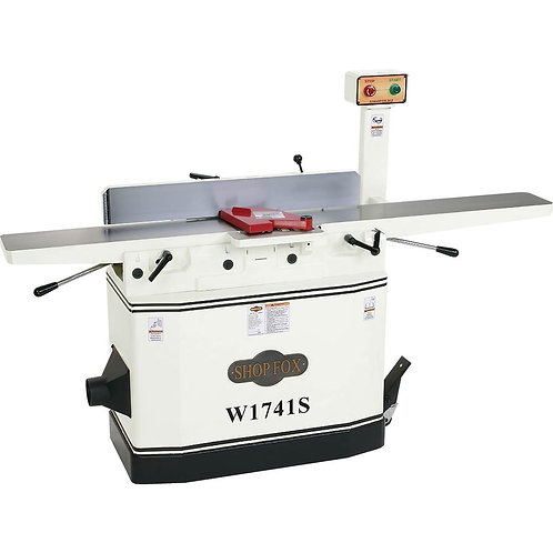 "W1741S 8"" Jointer with Adjustable Beds and Spiral Cutterhead"