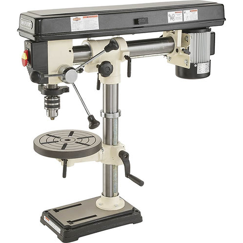 "W1669 1/2 HP 34"" Bench-Top Radial Drill Press"