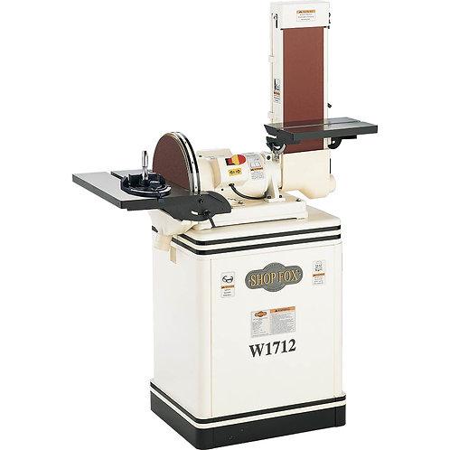 "W1712 1-1/2 HP 6"" Belt / 12"" Disc Combination Sander"