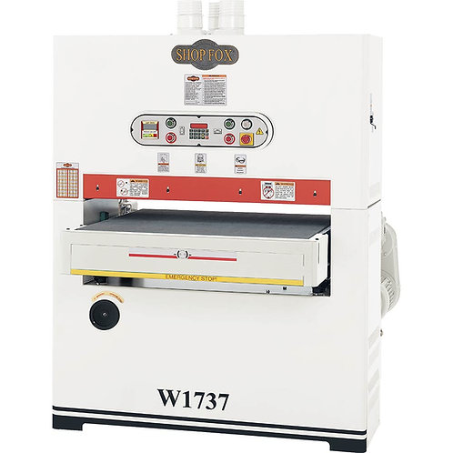 "W1737 37"" Single-Phase Wide Belt Sander"
