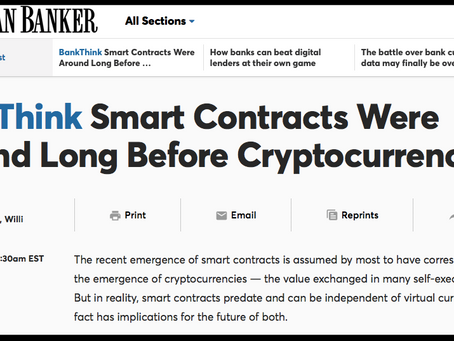 NEXT AMERICAN BANKER ARTICLE ABOUT ACTUS
