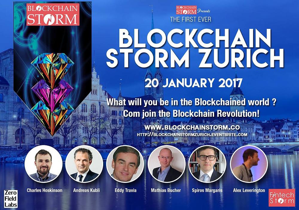 ACTUS presented at Blockchain Storm Zurich