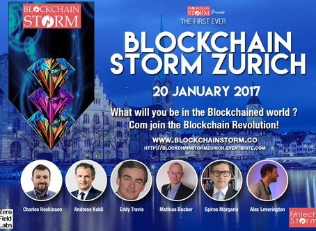 ACTUS PRESENTED AT BLOCKCHAIN STORM EVENT