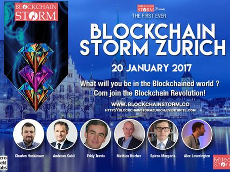 ACTUS PRESENTED AT BLOCKCHAIN STORM EVENT