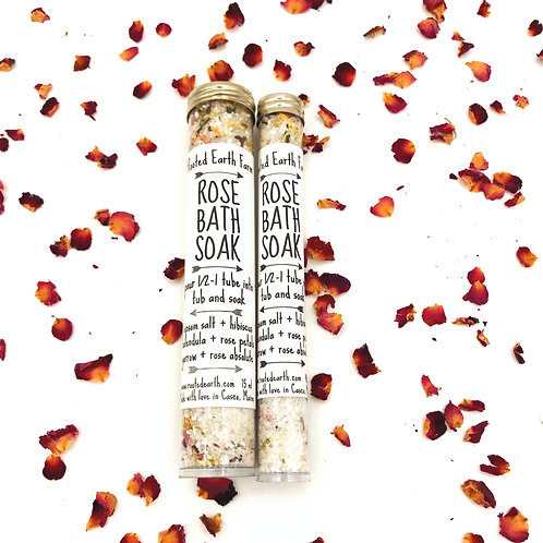 Rose Natural Bath Soak
