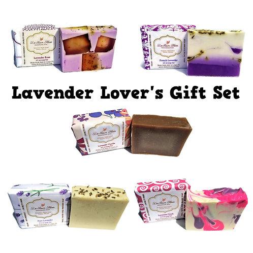 Lavender Lover's Soap Set