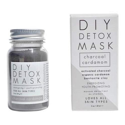 Charcoal Cardamom Detox Face Mask- Natural DIY Mud Mask