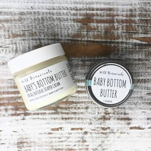 Baby Bottom Butter Jar