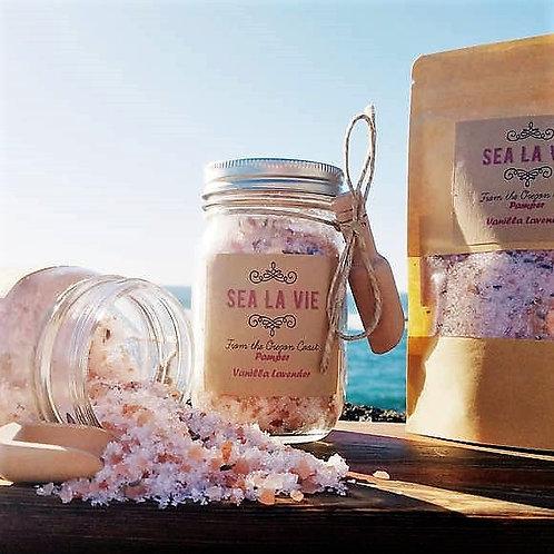 Lavender Vanilla Bath Salts