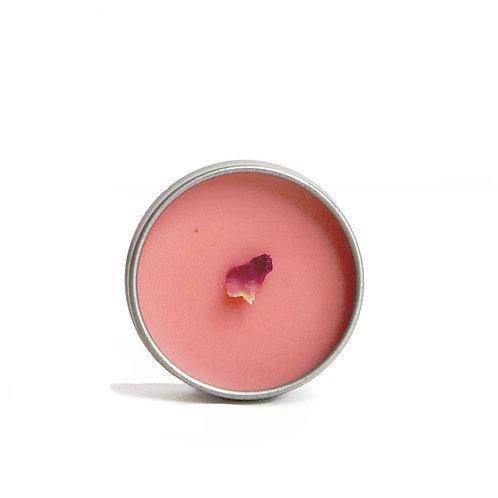 Rose Petal Lip Balm Tin