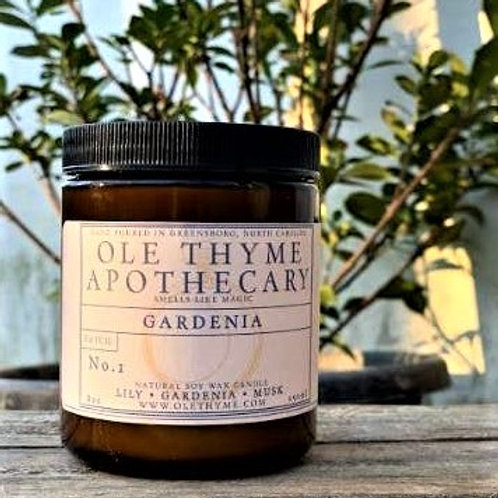Gardenia handpoured 8 oz soy candle