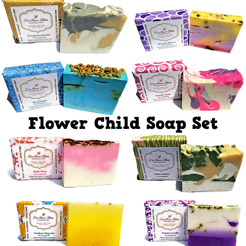 Flower Child Soap Set