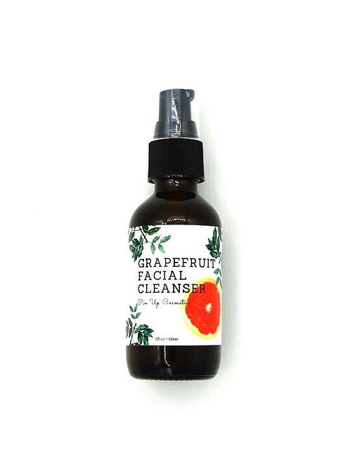 Grapefruit natural face cleanser