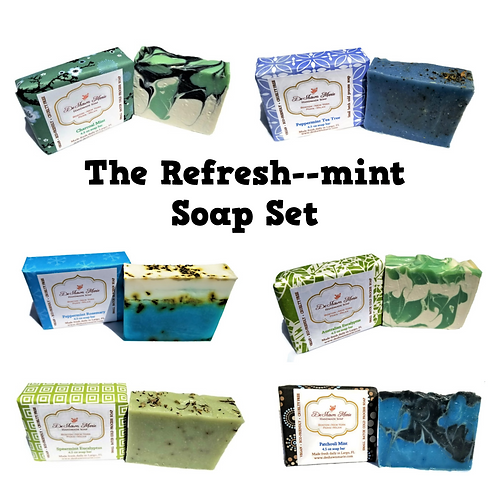 Refresh-Mint Soap Pack
