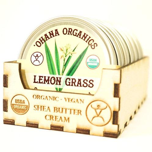 Lemongrass Organic Shea Butter Cream