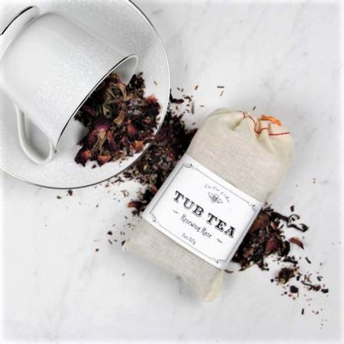 Renewing Rose Tub Tea