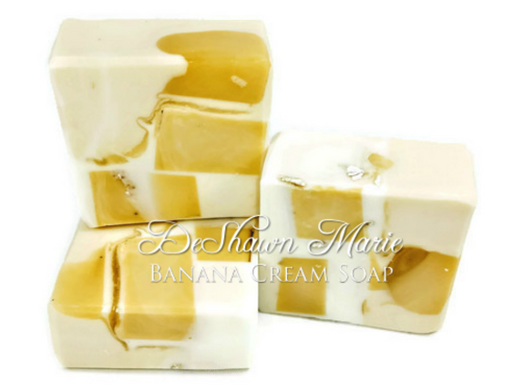 Banana Cream Soap
