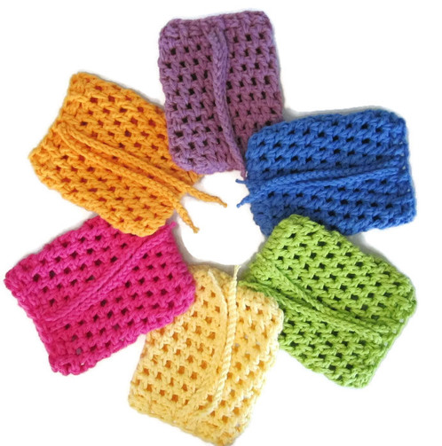 Hand Knitted Soap Saver