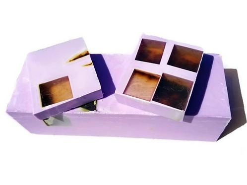 Lavender Rose Soap Loaf
