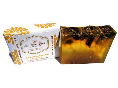 Honeysuckle Calendula Soap