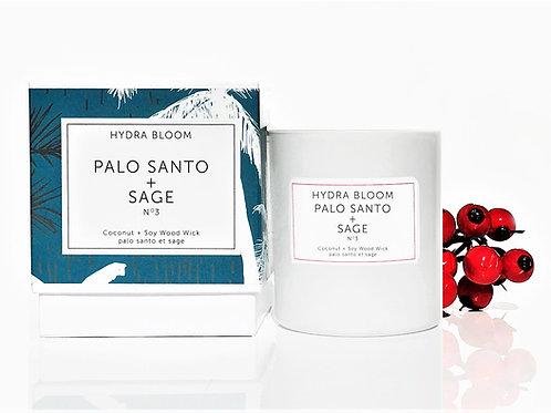 Palo Santo & Sage Natural Candle