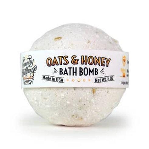Oh Oats & Honey Bath Bomb